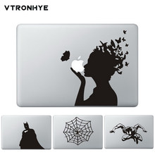 Laptop Sticker Vinyl Decal voor Macbook Pro Air Retina 13 11 15 Cool Kompas Print Gedeeltelijke Stickers voor HP Acer dell(China)