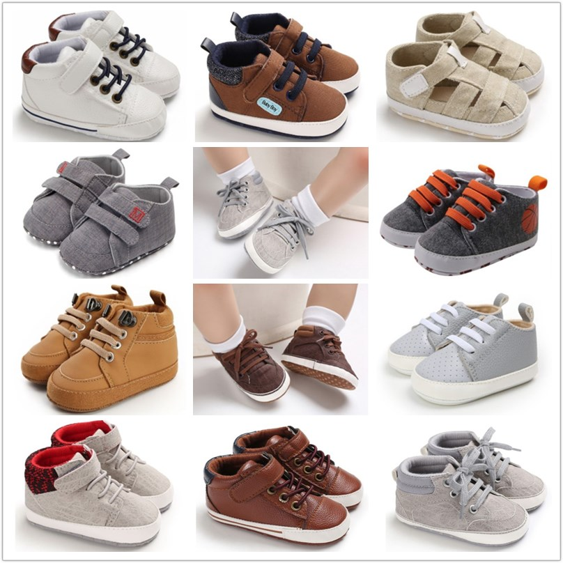 Baby-Boy-Shoes Prewalker Canvas Classic Newborn-Baby Child for Kids title=