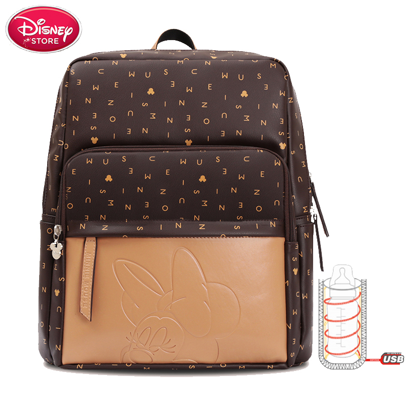 Disney Diaper Bags Large Maternal Mummy Bottle Insulation Bag Insulation Bag Travel Backpack Designer Nursing Bag For Baby Care