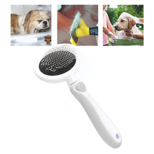 Pet Cat Dog Hair Removal Needle Comb Detangler Fur Trimming Brush Open Knot Deshedding Rake Hair Curly Grooming Cleaning Tools double side pet fur dog brush comb rake hair brush cat grooming deshedding trimmer tool dog comb pet brush rake 12 23 blades