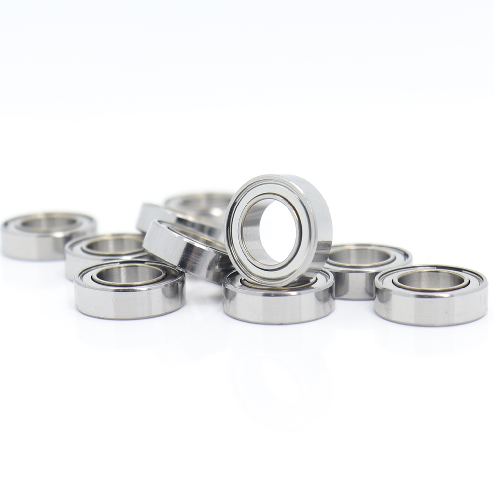 MR148zz Bearing 8 14 4 mm   10 PCS   ABEC-5 Miniature MR148 Z ZZ High Precision MR148Z Ball Bearings