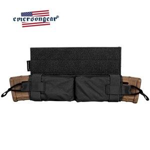 Image 5 - حقيبة إيمرسونجير ماج ذات سحب جانبي مزودة بجيب للمجلة M4 بندقية رموهة التكتيكية مزودة بخطاف وحلقة صيد معدات عسكرية للجيش
