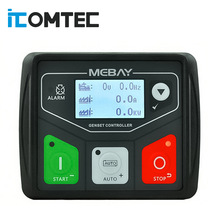 Mebay DC30D Generator Control Module Small Diesel genset Controller Panel USB programmable PC Connection