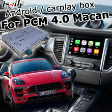 Android/Carplay Interface Box Voor Porsche Macan Pcm 4.0 2016-2017 Video Interface Box Gps Navigatie Youtube