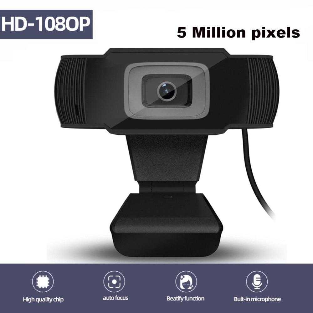 Usb веб камера 1080p hd 5 Мп с автофокусом Компьютерная камеры