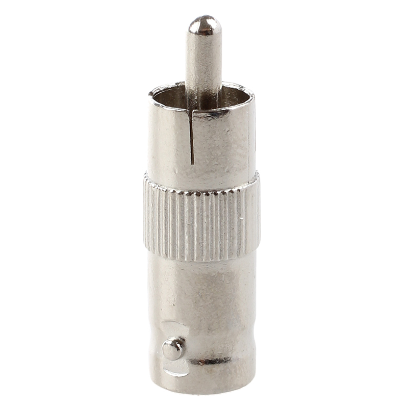 10 BNC Female TO RCA Male Plug COAX Adapter Connector in Connectors from Lights Lighting