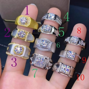 man ring 925 silver one piece