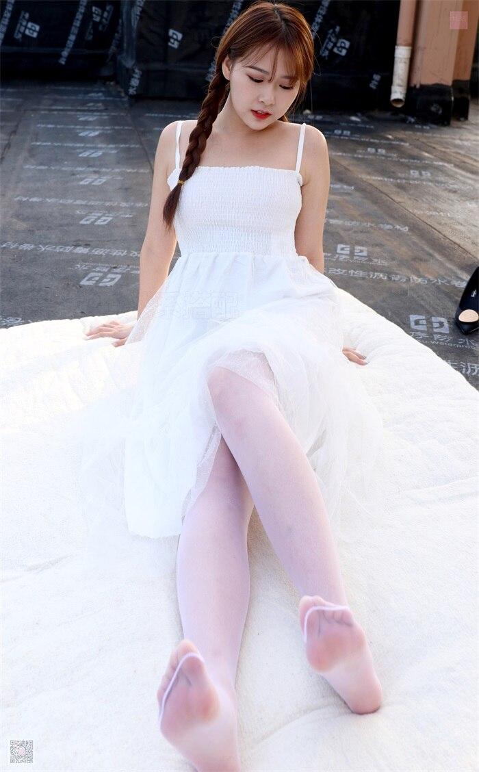 ⭐丝模写真⭐SiHua思话-苏羽SH021天台起舞的少女苏羽[94P/4V/150MB]插图(2)