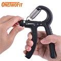 OneTwoFit Для мужчин ручной Усилитель Регулируемый тренажер для предплечья руку расширитель хвата кистевой эспандер Фитнес оснащения Для мужч...
