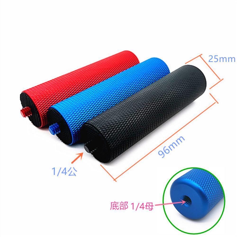 BGNing 1/4'' Inch Metal Handle Hand Grip Stabilizer Tripod Stick for LED Flash Light Support Video Holder SLR DSLR Action Camera-1