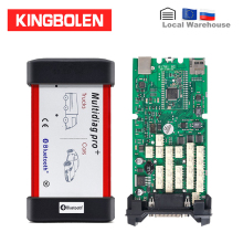 Multidiag Pro+ vci R0 Keygen Одиночная зеленая плата PCB OBDII интерфейс автомобиля/грузовика диагностический инструмент CDP TCS автоматический сканер