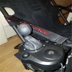Image 4 - Per Playseat Sfida Sedia G25 G27 G29 G920 Del Cambio Shifter Supporto di Montaggio Staffa Per Logitech TH8A G25 G27 G29 G920