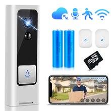 Smart Video Doorbell Camera WiFi Wireless Door Phone Home Door Bell Audio Intercom Security Camera PIR Motion Alarm Baby Monitor