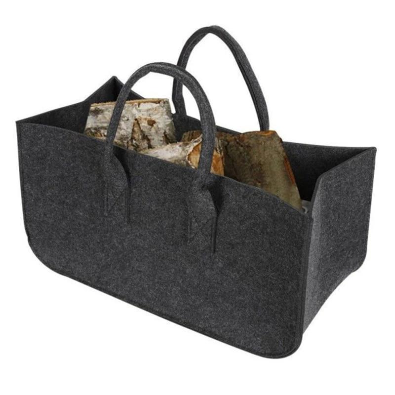 Basket Felt Felt Basket Box Storage Wood Basket Newspaper Basket Felt Bag