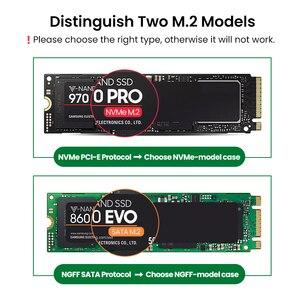 Корпус для SSD-накопителя Ugreen M2