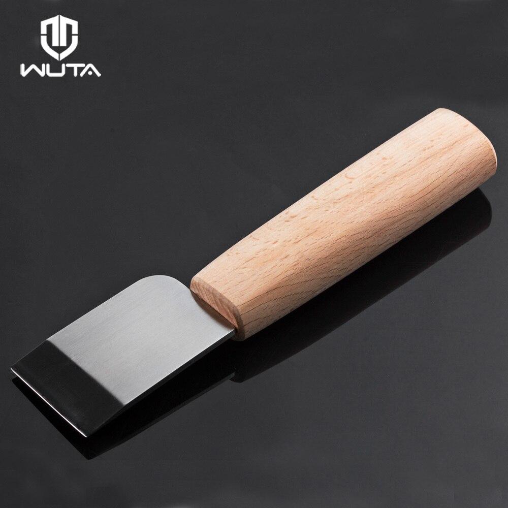 WUTA профессиональный нож для резки кожи DIY ремесленный нож острый инструмент для катания высокоскоростное стальное лезвие правая/левая рука