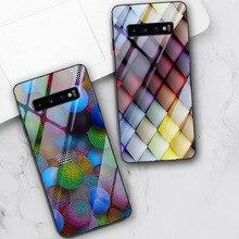 Custodia 3D di lusso per Samsung S21 S10 S9 S8 S20 Plus Ultra A51 A71 A50 A21S A70 A52 A02S A12 nota 20 10 9 Plus vetro temperato Funda