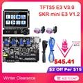BIGTREETECH SKR mini E3 V1.2 плата управления с TMC2209 + TFT35 E3 V3.0 сенсорный экран части 3d принтера для Ender 3 SKR V1.3 TMC2208