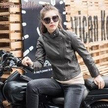 Autumn Women PU Leather Jacket Faux Soft Basic Coat Slim Black Zipper Motorcycle Short Jackets Coats 2019 New Fashion