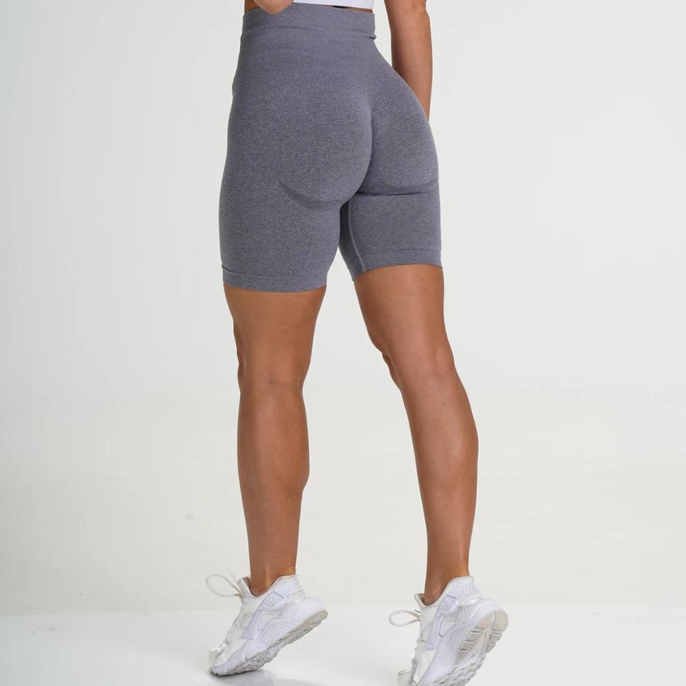 NCLAGEN Seamless Gym Shorts Quick Dry Workout Short Butt Lift Biker Short Women Active Athleisure Yogaings Shorts