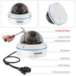 Image 2 - Techege 5MP POEกล้องวงจรปิดชุด8CHระบบกล้องกล้องวิดีโอIPกล้องบันทึกเสียงMotion Email Alertระบบกล้องรักษาความปลอดภัยวิดีโอ