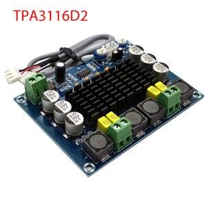 Image 1 - Nuevo Amplificador de potencia de Audio Digital TPA3116 de doble canal estéreo de alta potencia TPA3116D2 amplificadores 2*120W Amplificador DIY