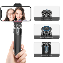 Ulanzi MT 37 Mini Tripod Monopod Stand Base Desktop Tripod For DSLR Camera Smartphone Phone Mount Three Stage Adjustment Angle