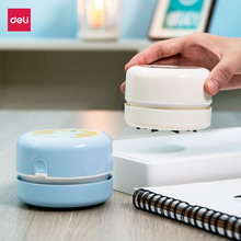 Portable Mini Desk Vacuum Cleaner Cute Pattern Student Desktop Cleaner Dust Collecter For Office DIY Stationery Accessories