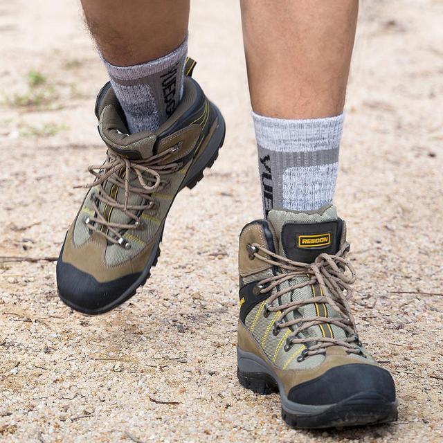 YUEDGE Brand 3 Pairs Cotton Socks 8