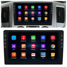 9in 2.5d tela de toque navegador gps embutido bluetooth wifi quad core player fm/am rádio para android 9.1