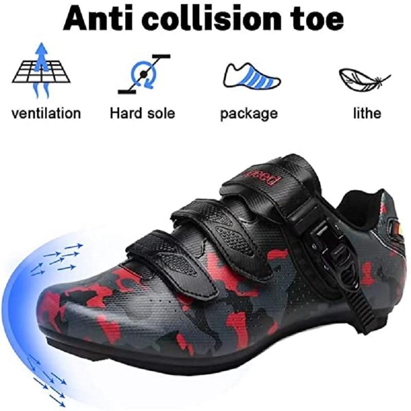 Для мужчин s велосипедные туфли дорожный велосипед спин обувь с пряжкой зажим Для мужчин сглаживатель перепадов напряжения домашняя спин ш...