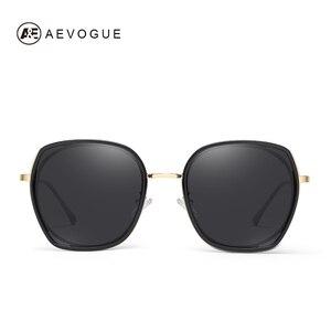 Image 2 - AEVOGUE ใหม่แฟชั่นผู้หญิงรูปหลายเหลี่ยมแว่นตากันแดด Polarized กรอบแว่นกันแดดขนาดใหญ่กลางแจ้งขับรถ Gradient เลนส์แว่นตา UV400 AE0833