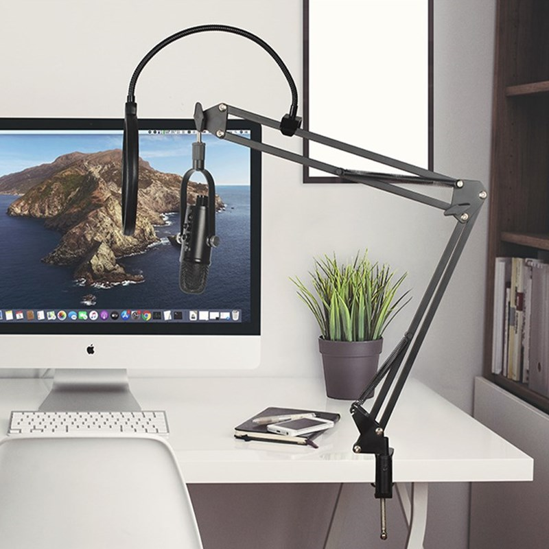 USB Microphone Professional Condenser Microphone Recording Stand Microphone for Computer Laptop YouTube Podcast