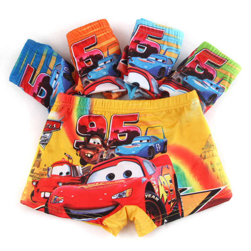 3pcs/lot 2019 New kids panties boys briefs child underwear lovely cartoon panties children clothing baby clothes