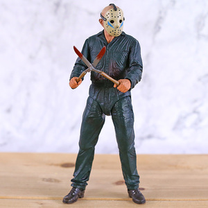 Image 2 - NECA Friday the 13th Jason Ultimate Part 5 Roy Burns Action Figure Horror Halloween Toy Doll Gift