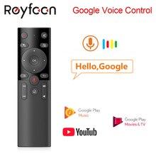 H17 Vocale di Controllo 2.4G Wireless Air Mouse con IR Apprendimento A Distanza Microfono Giroscopio per Android TV Box HK1 Max x88 pro