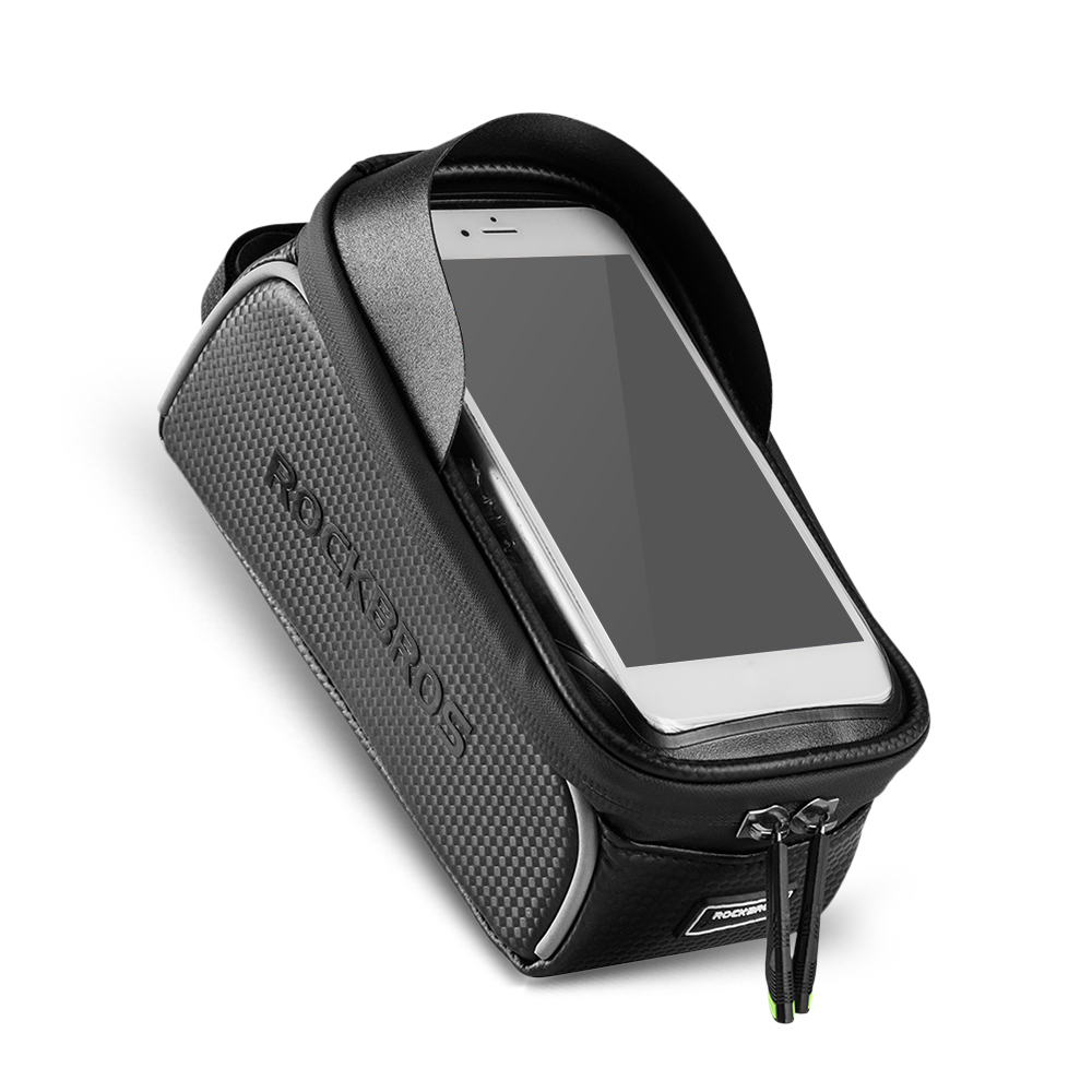 Top Bike Phone Bag Top Tube Bag Cycling Front Frame Bag Phone Holder Touch Screen Bike Phone Pouch Front Pannier Case 0