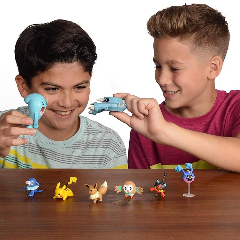 Pokemon Spielzeug Battle Figuren Set