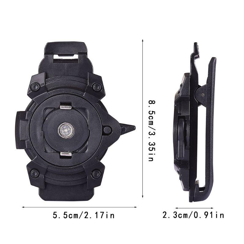 Universal Magnet Waist Belt Clip Vertical Phone Holder For IPhone Samsung Phones