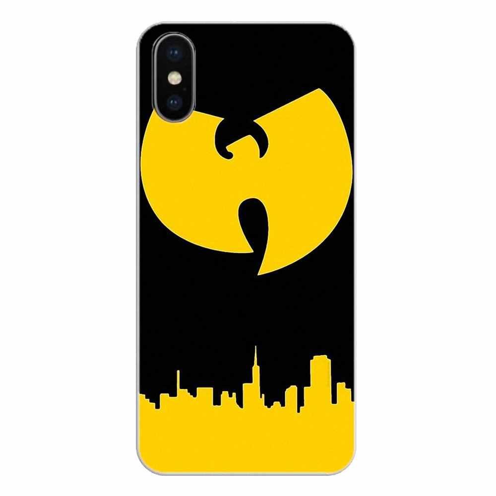 IPod Touch için iPhone 4 4S 5 5S 5C SE 6 6S 7 8 X XR XS artı MAX yumuşak şeffaf kılıflar kapakları Wu Clan Hip Hop Rap bant