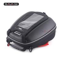 Tank Bag For YAMAHA YZF R1 R6 R25 R3 MT25 MT03 MT09 FZ09 MT10 TDM900 Motorcycle Multi Function Phone Navigation Luggage Bags