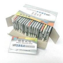 พิเศษตัวบ่งชี้กระดาษPrecision PH Test Strip 3.8 5.4 เครื่องสำอางน้ำลายปัสสาวะAmniotic Fuid Acid & Alkaทดสอบกระดาษ 1600 แถบ