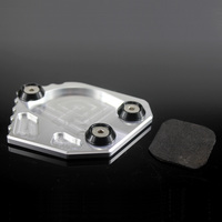 Kickstand Motorcycle Lateral Rest Foot Extension Pad Plate Support For Bmw F800gs F800 Gs 2008 2010 2011 2012 2013 2014 2015