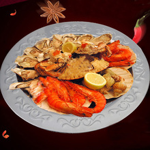 Stainless Steel Crayfish Plate Mirror Plate Pattern Color Flat Plate Tray Steak Tray Decorative Tray tattoo kits stainless steel sterilization flat tray medical disinfection plate tray tattoo accessories