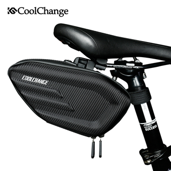 CoolChange Bicycle Saddle Bag Waterproof Bike Rear Bags Shockproof Cycling Rear Seat Tail Bag Reflective MTB Bike Accessories rockbros bicycle saddle bag bike mtb road bike tools seat bag water bottle cycling bag waterproof cycling rear seat tail bag