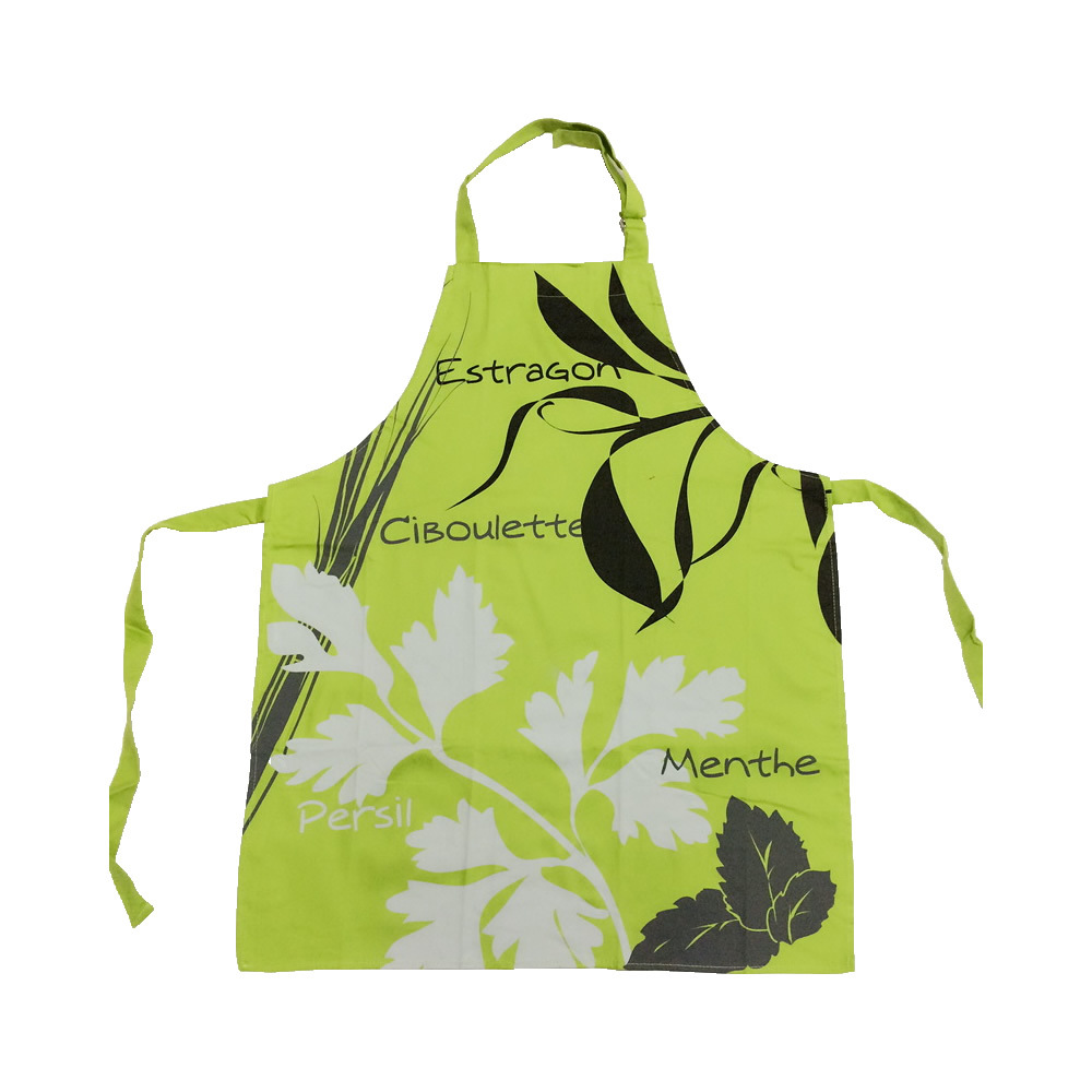 Apron Greenish Blue Cool Mint Garden Home Fabric Apron Petty Restaurant Work Apron Processing