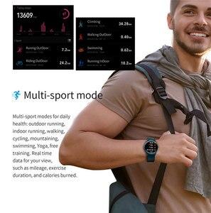 Image 5 - חדש Battiphee Smartwatch KW13 AMOLED HD מסך Ultra בהיר צבע צמיד להקת ארוך זמן המתנה ספורט מצב קצב לב צג