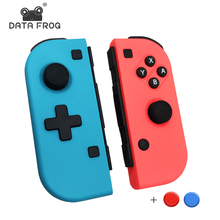 DATA FROG Wireless Bluetooth Pro Joy-Con Gamepad Controller For Nintend Switch Console Game Joystick For Nintendo Switch Joy Con цена и фото