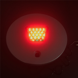 Voor Nissan Patrol Y61 1997- 2013 Achter Reservewiel Signaal Led Lamp Cover Abs Vervanging Accessoires