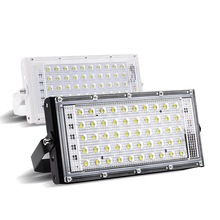 LED flood light 50W perfect power flood light colorful street light 220V 240V waterproof landscape lighting IP65 led spotlight